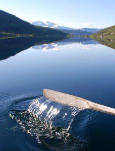 ro på vatnet